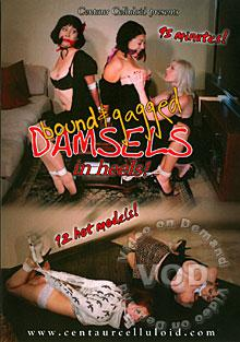 Bound & Gagged Damsels In Heels! Box Cover