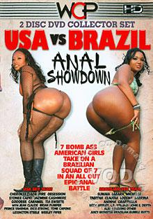 USA vs. Brazil - Anal Showdown (Disc 1) Box Cover