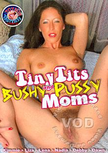 Tiny Tits And Bushy Pussy Moms Box Cover
