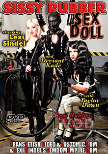 Sissy Rubber Sex Doll Box Cover