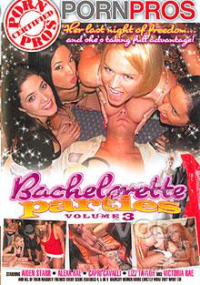 Bachelorette Parties Volume 3 Box Cover