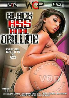 Black Ass Anal Drilling Box Cover