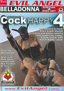 Belladonna's Cock Happy 4 (Disc 1) Box Cover