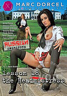 Russian Institute Lesson 18 - The Headmistress (English) Box Cover