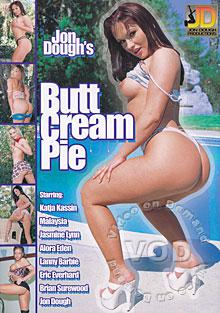 Butt Cream Pie Box Cover