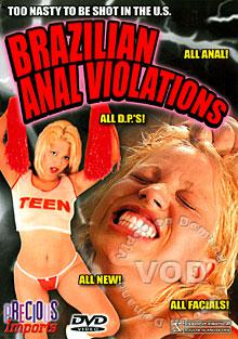 Brazilian Anal Violations Box Cover