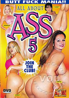 All About Ass 5 Box Cover